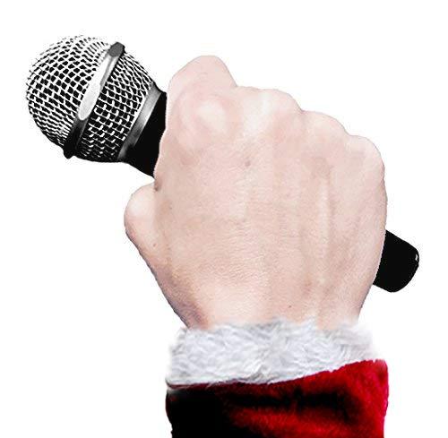 마이크 마이크를 떨어 뜨리십시오-떨어 뜨릴 때 녹음을 재생합니다-휴일 에디션. 모든 연령대를위한 훌륭한 스타킹 스터 퍼 아이디어 및 선물