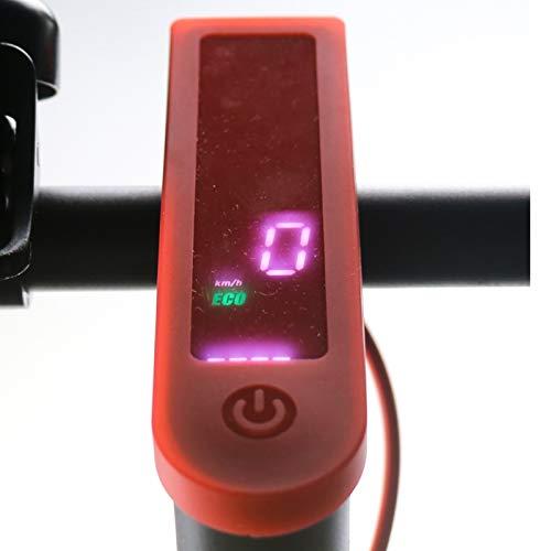 Scooter Ninebot MAX G30 Funda de Silicona Impermeable Funda de Silicona para salpicadero Pantalla Led Funda Impermeable