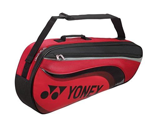 Yonex Badminton Tasche 3er Bag Limited Edition (8823), Color- Black/Lime