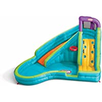 Little Tikes Slam 'n Curve Inflatable Water Slide with Blower