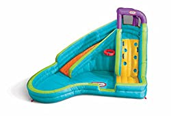 top 10 banzai slide n soak splash park Little Tikes Slam'n Curve foil, multicolor