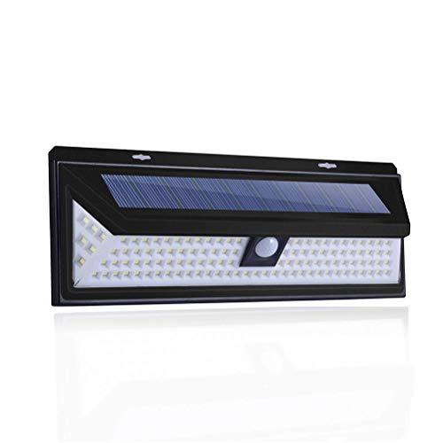 Yaobuyao Solar Lichter Outdoor Deck Lichter, 180 LED Einstellbare Drahtlose Bewegungssensor Licht Für Hof, Garage, Garten, Terrasse, IP65 Wasserdicht (Mit Fernbedienung)