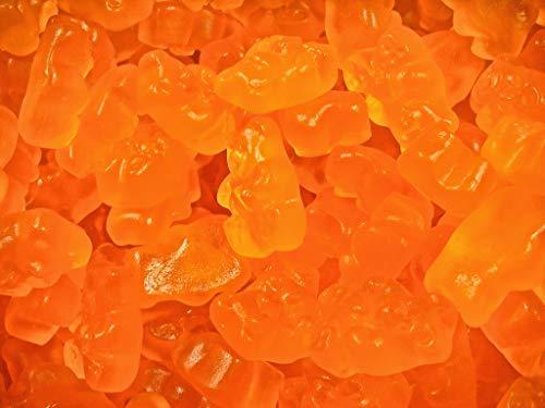 FirstChoiceCandy Orange Gummy Bear Albanese Gummi Candy 2 Lb