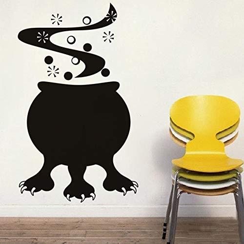 44x73cm, 3d Wandaufkleber, Jungen Schlafzimmer Wandaufkleber, Kessel Monster Kleber inspirierende Zitate Tapete Geschenk Badezimmer Paste Tapete hängenden Hintergrund