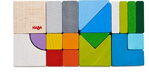 HABA Wooden Chromatix Building Blocks (Made in Germany)