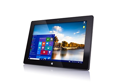 "10"" Windows 10 Fusion5 FWIN232 Plus S1 Ultra Slim Tablet Computer - (4GB RAM, USB 3.0, Intel, 5MP and 2MP Cameras, Windows 10 S Tablet PC)"