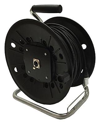 Neutrik Cat5e Lead on Plastic Reel 60 m Ethercon Van Damme Cable