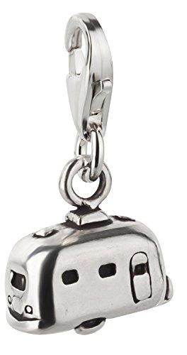 Charm Anhänger Wohnwagen aus 925 Sterling Silber