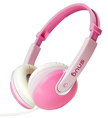 Snug Plug n Play Kids Headphones for Children (Pink) by Snug
