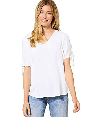 Cecil Damen 342019 Bluse, White, X-Small