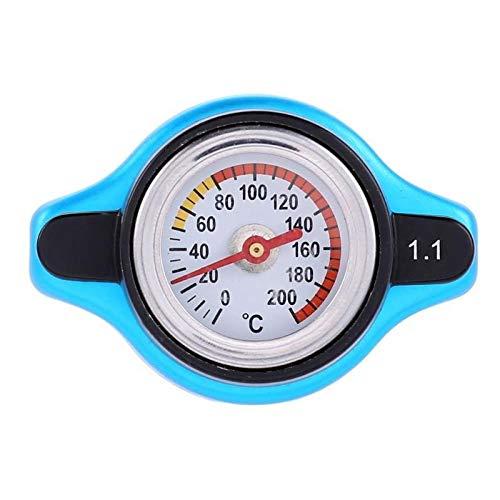 CAIZHIXIANG Temperatura de la Motocicleta del Coche Tapa del radiador Contador del Agua termostático Indicador de presión del radiador y Mejorar el Rendimiento de refrigeración