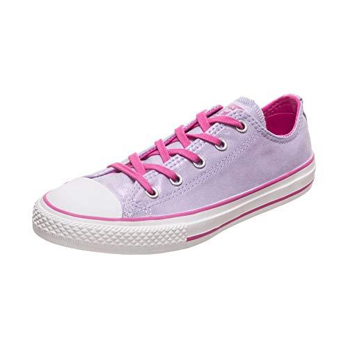 Converse Unisex-Kinder Chuck Taylor All Star Sneaker, Pink (Oxygen Purple/Active Fuchsia 000), 38 EU