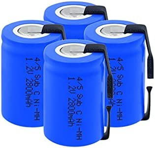 Selling and selling Rechargeable Batteries 1.2 V 2800Mah Ni-Mh Sub lowest price Batt
