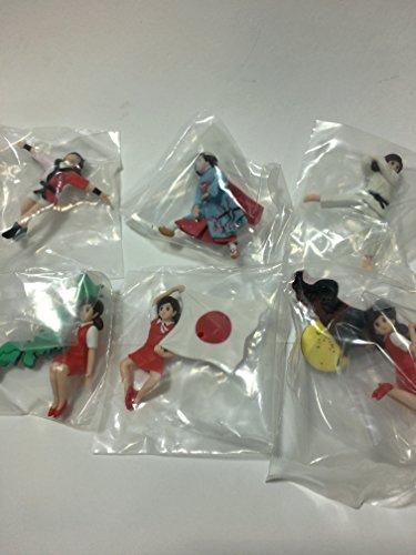 カプセル コップのフチ子 JAPAN 6種アソート