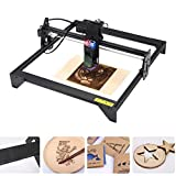 Desktop Laser Engraver 5000mW 20W, Upgraded 41x40cm CNC Laser Engraving Machine Wood Cutter Carving for Acrylic Leather MDF Logo Picture DIY Making GRBL Control