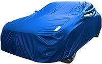車のカバー シボレーと互換性カーカバーカーカバーカバーカー布プロテクティブカーコーブ防塵カーカバーのフル外装カバーをVOLT (Color : Blue-Custom mailbox)