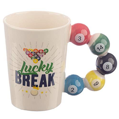 AOARR Bierglas golfmok van keramiek geschenk mok sport serie golf mok latte mok ontbijt mok geschenk persoonlijkheid grappig