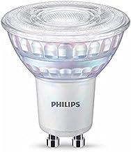 Philips LED Classic Warm Glow Dimmable Light Bulb [GU10 Spot] 6.2W - 80W Equivalent, Warm White (2200 - 2700K)
