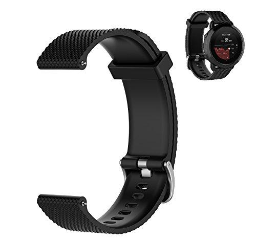 WEINISITE Regolabile Silicone Cinturino per SUUNTO 3 Fitness Sportivo Orologio (#1, L)
