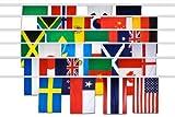 Flaggenkette Fahnenkette Fußball Frauen WM 2019 Fahnenkette Girlande 700 cm lang