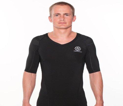 IntelliSkin Men's Posturecue V-Neck