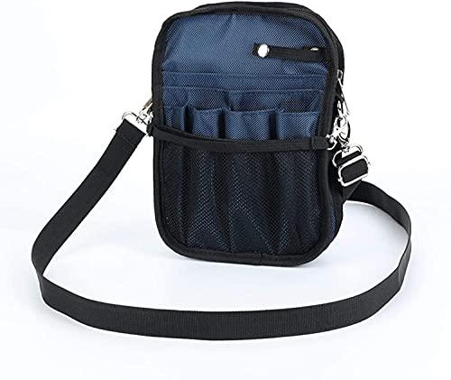 Bolso de la cintura Caja Enfermera Fanny Pack for Work, Kit Bolsa de cintura práctica para enfermeras, Paquete Fanny para el cuidado de las tijeras del hogar, Bolsa de organizador de la correa