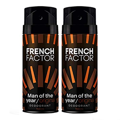 The French Factor Man Of The Year Deodorant Gift Set Combo Set (Set Of 2)
