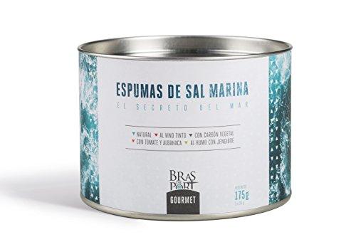 Meersalz Schaum - Espuma de Sal aus Spanien - 100 % natürlich - Exclusives Salz in Premium Qualität - Naturpark Salinas - 5 verschiedene Sorten a 35 g