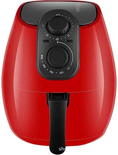 Qinmo Forno elettrico, Aria friggitrice Touchscreen con 8 di cottura preimpostata e airfryer Cookbook -2.6 litri di grande capacità, viola, rosso (colore: rosso), Colore: Rosso (Color : Purple)