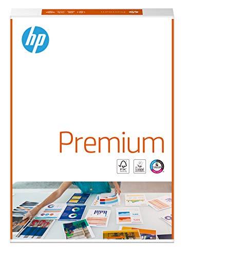 HP Kopierpapier Premium CHP 850: 80 g, A4, 500 Blatt, extraglatt, weiß - Intensive Farben, scharfes Schriftbild