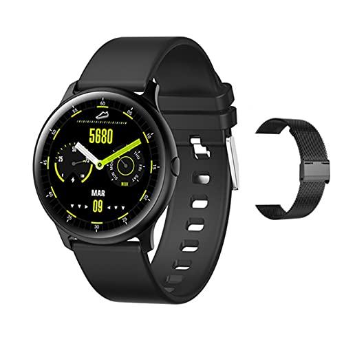 Smart Watch Ladies KW13 Fitness Smartwatch 1.2 Inch AMOLED AMOLED Resolución 390 * 390 Modos Múltiples Modos Deportivos Smart Ladies Men's Watch,E