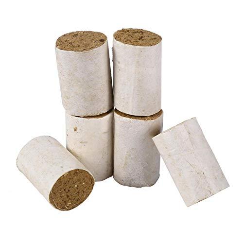 SALUTUYA Herramienta de Apicultura 54 Piezas de Combustible para Fumador de Abejas, generador de Humo de pellets para Ahumado para Abejas calmadas, limpias y saludables
