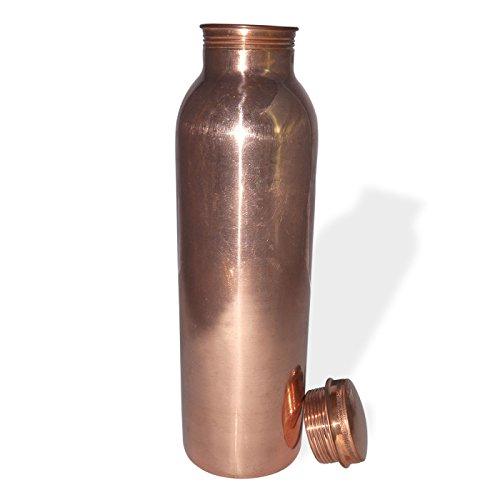 Dakshcraft ® pure Bouteille cuivre Jointeless haute plaine Qualité