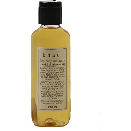 Khadi: Massageöl Sandelholz & Mandel (210 ml)
