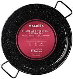 Machika Enameled Steel Paella Pan 13 inch 34 cm product image