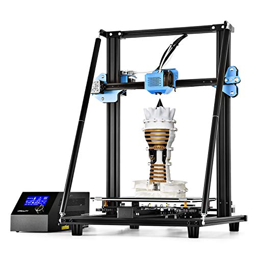Creality CR-10 V2 FDM 3D Printer with Upgraded Firmware Silent Mainboard, Meanwell Power Supply, All-Metal Extruder, Build Volume 300 x 300 x 400 mm, New Version