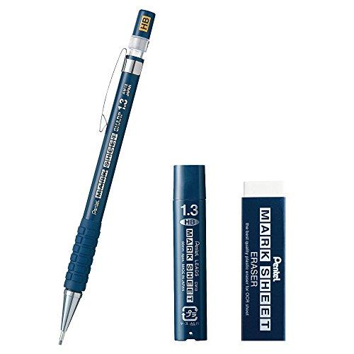 ぺんてる マークシートシャープペン HB 消しゴム 替芯セット AMZ-AM113HB-SET