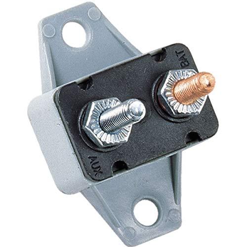 Bussmann CBP-15B - Interruptor de circuito (tipo I, resistente, con terminales y soporte, 15 A), 1 paquete
