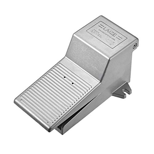 uxcell 2 Position 3 Ways 1/4 inches G Female Nonslip Latching Pneumatic Foot Pedal Valve Air Switch