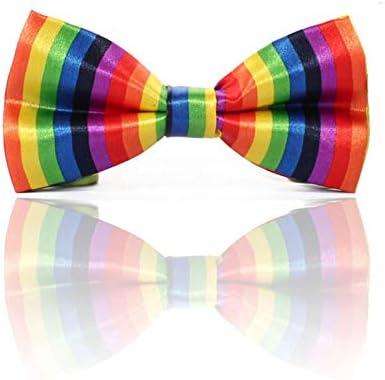 Rainbow Bow Tie - Gay Pride LGBT