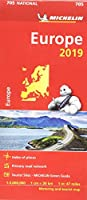 Europe 2019 - Michelin National Map 705 (Michelin National Maps)