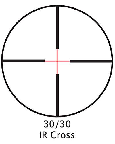 BARSKA 3-9x40 IR Huntmaster Pro Riflescope , Black