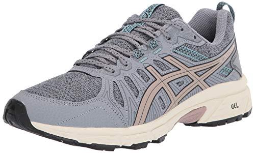 ASICS Women's Gel-Venture 7 MX Running Shoes, 11.5M, Sheet Rock/Fawn