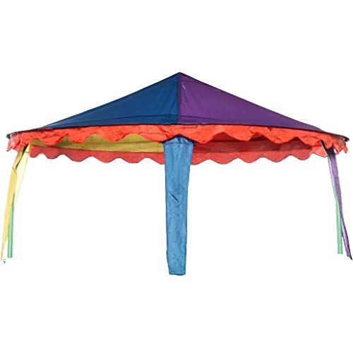 trampoline Canopy circus tent oval 4.27 x 5.18 meters