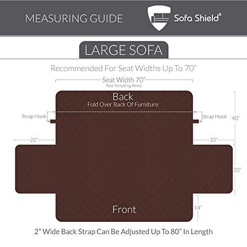 Sofa Shield Original Reversible Seat Slipcover