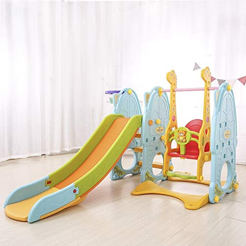 Buy Bargain PNFP 6 in 1 Indoor Slides Sets for Toddlers, Can be Used with Swing, Football Gate, Fold...