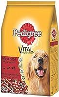بيديجرو طعام الكلاب البالغه بنكهة لحم البقر والغنم والخضروات - 3 كغ