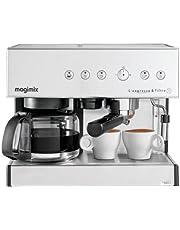 Magimix 11423 Espresso & Filtre Otomatik Espresso Makinesi, 1,4 Litre, Krom