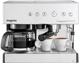 Magimix 11407 Espresso & Filtre Automatic, Espressomachine, 1,4 liter, Chroom