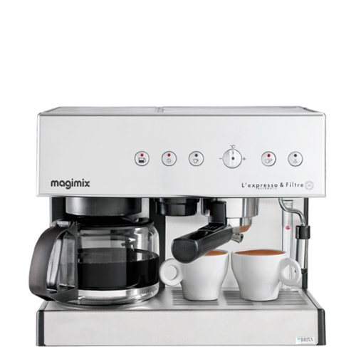 Magimix Espresso & Filtre Automatic Independiente - Cafetera